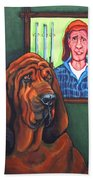 Bloodhound - Bervil And Blue Beach Towel
