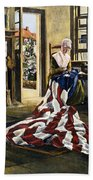 Betsy Ross (1752-1836) Beach Towel