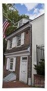 Betsy Ross House Philadelphia Pennsylvania Beach Towel