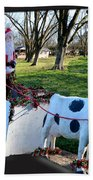 Betsy The Red Nose Moo-cow Beach Towel