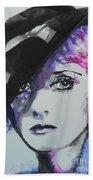 Bette Davis 02 Beach Towel