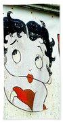 Betty Boop Herself Beach Towel