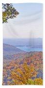Between The Trees Beach Towel