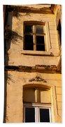 Beyoglu Old Houses 01 Beach Towel