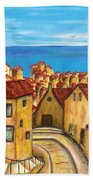 Biagi In Tuscany Beach Towel