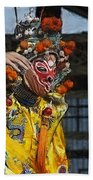 Bian Jiang Dancer Color Drawing Hp Beach Towel