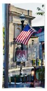 Biblion Used Books Reflections 2 - Lewes Delaware Beach Towel