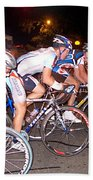 Bicycle Race By Jan Marvin Beach Towel