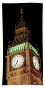 Big Ben Close Up Beach Towel