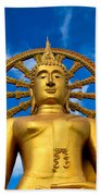 Big Buddha Beach Towel