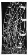 Big Eli Ferris Wheel 2 Beach Towel