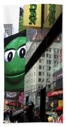 Big Green M And M Beach Towel