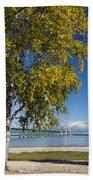Big Mackinac Bridge 67 Beach Towel