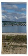 Big Mackinac Bridge 72 Beach Towel