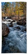 Big Pine Creek Beach Towel by Cat Connor