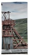 Big Pit Colliery Beach Towel