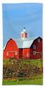 Big Red Barn Beach Towel
