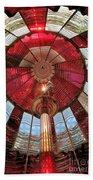 Big Red Fresnel Beach Towel