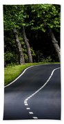 Big  Road Beach Towel