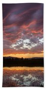 Big Sky Sunrise Beach Towel