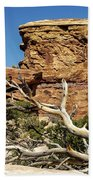 Big Spring Canyon Overlook Beach Towel