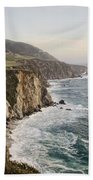 Big Sur Beach Towel by Heather Applegate