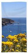 Big Sur Loves Yellow By Diana Sainz Beach Towel