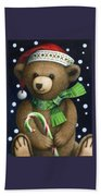 Big Teddy Beach Towel