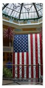 Big Usa Flag 1 Beach Towel