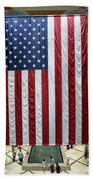Big Usa Flag 2 Beach Towel