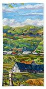 Big Valley By Prankearts Beach Towel