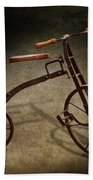 Bike - The Tricycle  Beach Towel