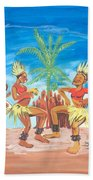 Bikutsi Dance 3 From Cameroon Beach Towel