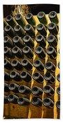 Biltmore Estate Wine Cellar -stored Wine Bottles Beach Towel