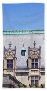 Biltmore House Roof Beach Towel