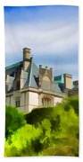 Biltmore In The Distance Beach Towel