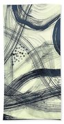 Biological Rhythms Beach Towel