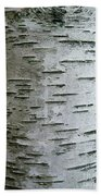 Birch Bark Beach Towel