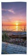 Birch Bay Sunset Beach Towel