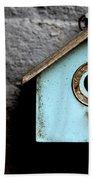 Bird House Of Blue By Diana Sainz Beach Towel