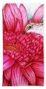 Bird In Bloom Beach Towel