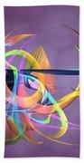 Bird-of-paradise - Abstract Beach Towel