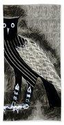 Bird Of Prey Beach Towel