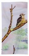 Bird On The Brunch Beach Towel
