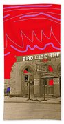 Birdcage Theater  Tombstone Arizona Ca.1934 Beach Towel