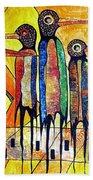 Birds 738 - Marucii Beach Towel