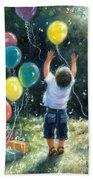 Birthday Boy Beach Sheet