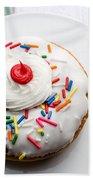 Birthday Party Donut Beach Towel