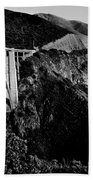 Bixby Black And White Beach Towel by Benjamin Yeager