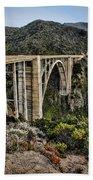 Bixby Creek Bridge Beach Towel